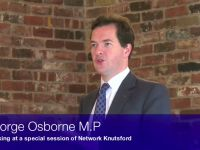 George Osborne at Network Knutsford